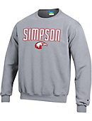 Simpson University Red Hawks Crewneck Sweatshirt