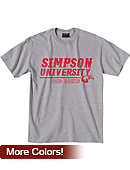 Simpson University Red Hawks T-Shirt