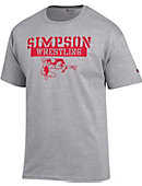 Simpson University Wrestling T-Shirt