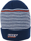 Nike University of Texas El Paso Cuffed Stripped Beanie