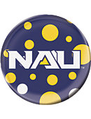 Northern Arizona Lumberjacks 3 in. Button Magnet