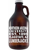 Northern Arizona Lumberjacks 64 oz. Growler
