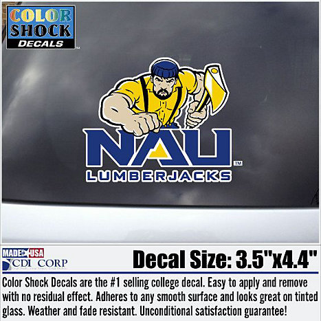 Product: Northern Arizona Lumberjacks Decal