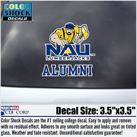 Product: Northern Arizona Alumni Lumberjacks Decal