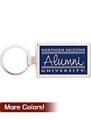 Northern Arizona Alumni Keychain