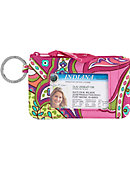 Vera Bradley Zippered ID Case