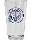 Tennessee Wesleyan College 16 oz. Drinking Glass