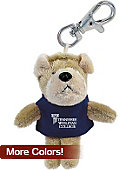 Tennessee Wesleyan College Plush Keychain