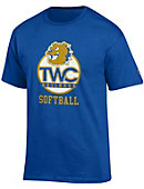 Tennessee Wesleyan College Bulldogs Softball T-Shirt