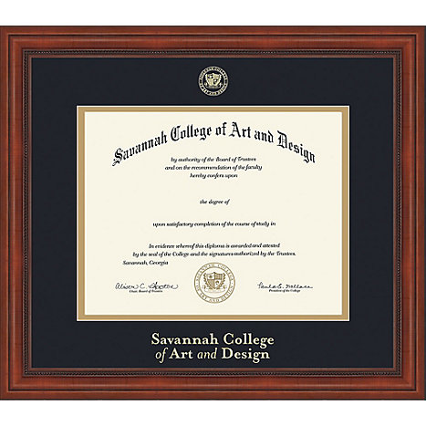 Savannah College Of Art And Design Diploma Frame Scad Atlanta Savannah College Of Art And Design