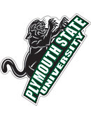 Plymouth State University Panthers 4''x4'' Magnet