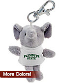 Plymouth State University Plush Keychain