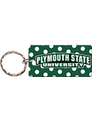 Plymouth State University Panthers Keychain with Mirror