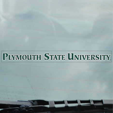 Product: Plymouth State University Panthers Strip Decal