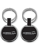 Plymouth State University Double Ring Keychain