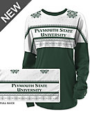 Plymouth State University Women's Long Sleeve Ugly Sweater Ra Ra Shirt