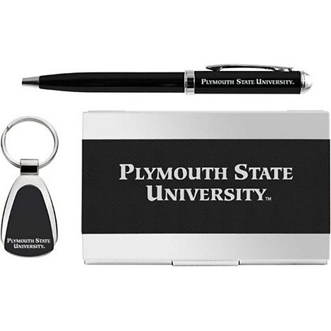 Product: Plymouth State University Pen, Keychain, and Cardholder Set