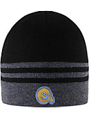 Albany State University Golden Rams Striped Crew Beanie