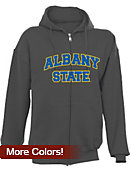Albany State University Full-Zip Hooded Sweatshirt