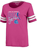 Albany State University Women's Breast Cancer Awareness T-Shirt