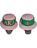 Albany State University Alpha Kappa Alpha Bucket Hat