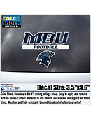 Missouri Baptist University Football Decal