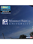 Missouri Baptist University Decal
