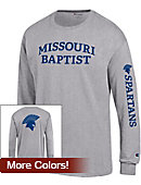 Missouri Baptist University Spartans Long Sleeve T-Shirt