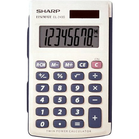 Product: Sharp Calculator EL243SB Basic