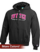 Ivy Tech Community College Full-Zip Hooded Sweatshirt