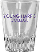 Young Harris College Collector's Glass