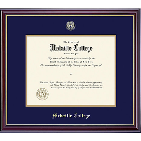 Product: Medaille College 8.5'' x 11'' Windsor Diploma Frame