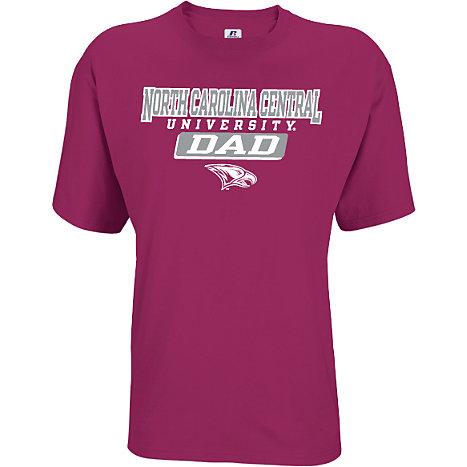 North carolina central university eagles dad t shirt for University of north carolina t shirts