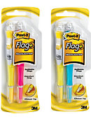 Post-it® Flag+ Highlighter, Yellow, Pink, Blue, 50 Color Coordinated Flags/Highlighter, 3/Pack