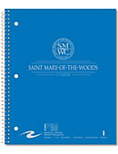 Saint Mary-of-the-Woods College Pomeroys 100 Sheet Notebook
