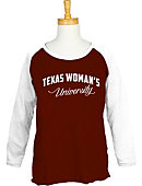 Texas Woman's University  Women's 3/4 Sleeve Raglan T-Shirt