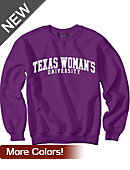 Texas Woman's University  Crewneck Sweatshirt