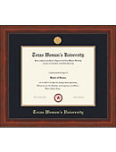 Texas Woman's University Millenium Diploma Frame -ONLINE ONLY