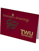 Texas Woman's University  Holiday Greeting Cards 10-Pack