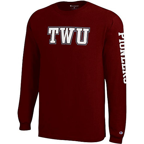 Product: Texas Woman's University  Long Sleeve T-Shirt