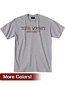 Texas Woman's University  Pioneers Short Sleeve T-Shirt