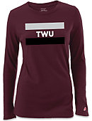 Texas Woman's University  Women's Long Sleeve T-Shirt