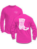 Texas Woman's University  Pioneers Long Sleeve T-Shirt