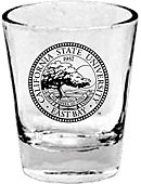 California State University East Bay 1.5 oz. Collector's Glass