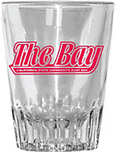 California State University East Bay 2 oz. Fluted Collector's Glass