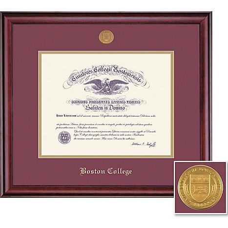 framing success 1516d boston college diploma frame