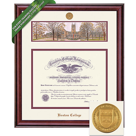 Product: 1215G Diploma Frame with Litho