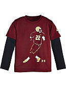 Toddler Boys 2 in 1 Long Sleeve T-Shirt
