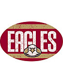 Boston College Eagles 3.5 in. x 5.5 Oval Magnet