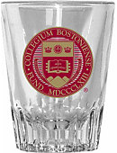 Boston College 2 oz. Fluted Collector's Glass